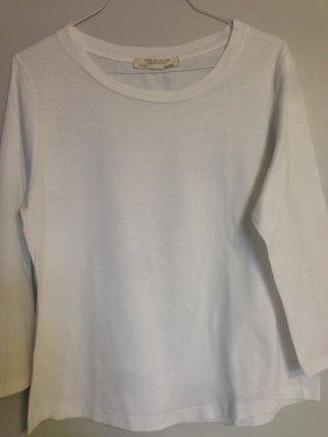 Weißes ZARA Shirt 3/4 Ärmel