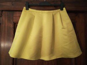 Promod Falda circular amarillo