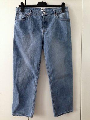 Weit geschnittene High Waist Jeans von Asos, Gr. 40/42