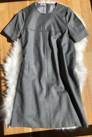 Weit geschnittenes Etui Kleid Wollkleid Hochwertig Businesskleid Bürokleid