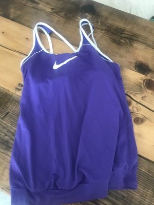 Nike Sports Shirt white-dark violet