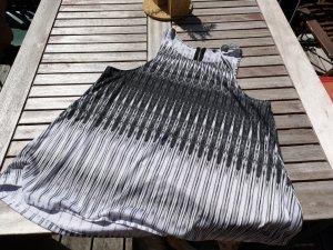 Lange top zwart-wit