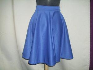 Falda circular azul