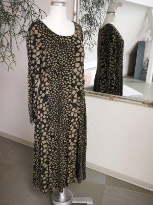 weit schwingendes Kleid Viskosejersey