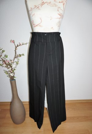 Only Marlene Trousers black-white viscose
