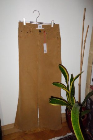 Urban Outfitters Hoge taille jeans beige