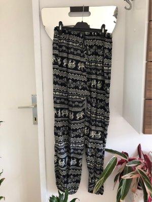 Baggy Pants black-white