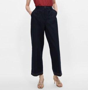 Zara Pantalon chinos multicolore
