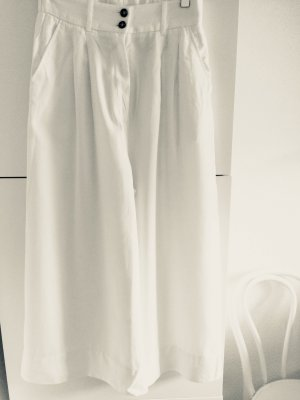 H&M Low-Rise Trousers white
