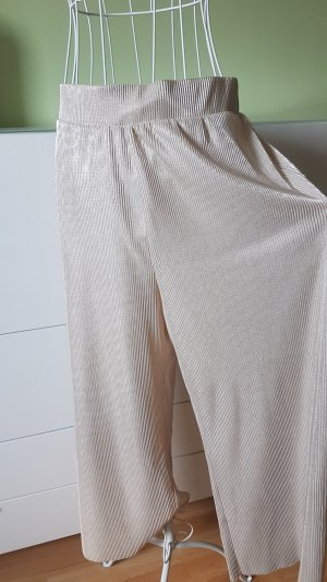 Noisy May 7/8 Length Trousers gold-colored