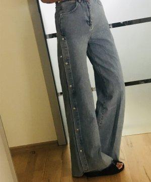 Weite Jeans mit Knöpfen von Pull & Bear in Gr. Xxs neu!