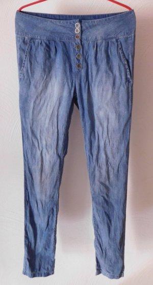 Weite Jeans Pluderhose Highwaist von Vero Moda
