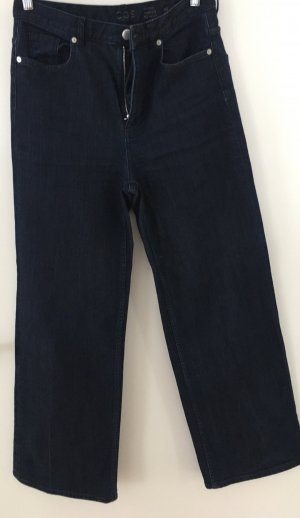 COS Jeans a vita alta blu scuro