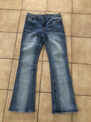Boot Cut spijkerbroek blauw