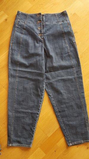 Ischiko Baggy Jeans dark blue mixture fibre