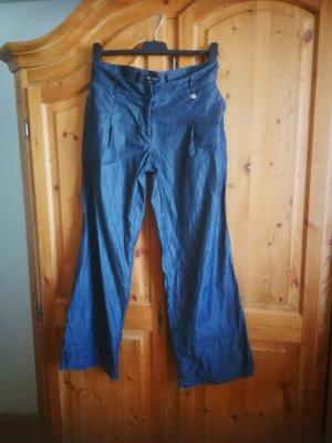 Apart Pantalón anchos azul oscuro