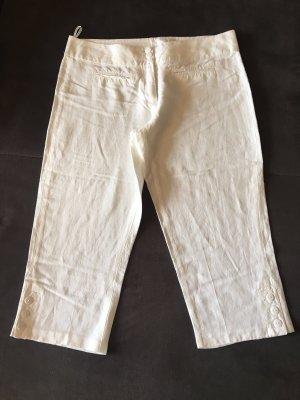 Blue Seven 3/4 Length Trousers white