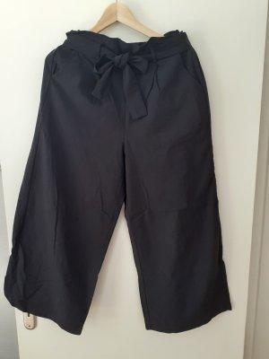 Pantalone culotte nero