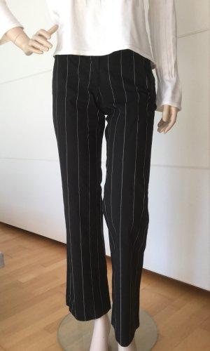 Imperial Pantalón de campana negro-blanco