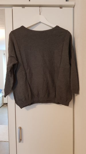 Mango casual Knitted Sweater dark grey