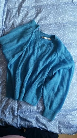 Weiter Mohair Pullover