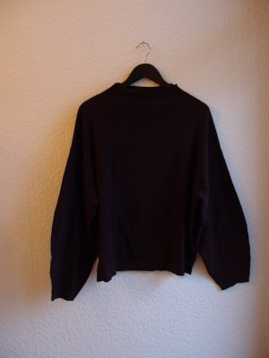 Weiter weinroter Pullover (conscious) NEU