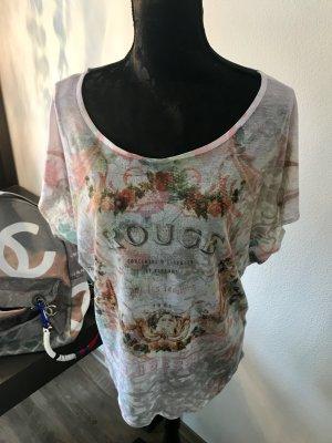 Weites Guess Shirt mit Romantikprint