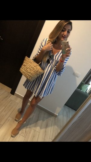 5 Preview Shortsleeve Dress white-azure