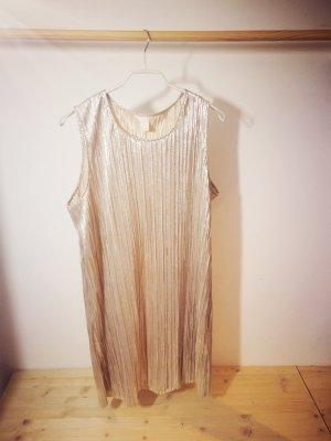 H&M Midi Dress silver-colored