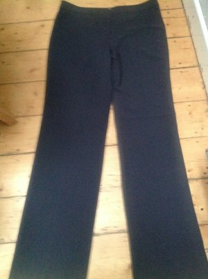 Armani Collezioni Jersey Pants dark grey new wool