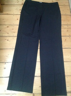 Armani Collezioni Pantalon Marlene noir tissu mixte