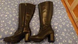 DUO Wide Calf Boots black leather