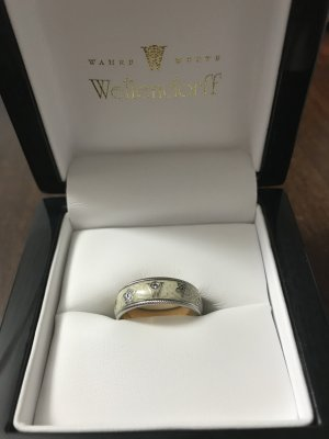wellendorff Schutzengel Ring in Sonderanfertigung