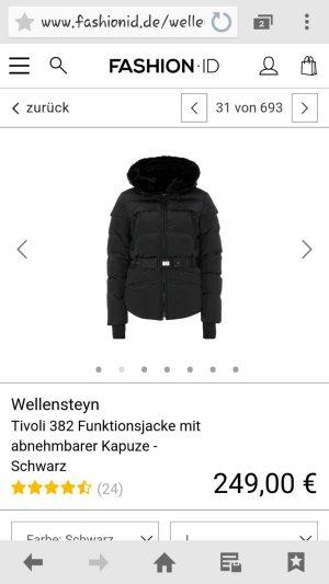 Wellensteyen Jacke Tivoli mit abnehmbarer Kapuze in Schwarz