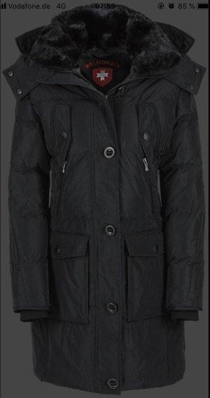 Wellensteyn Manteau d'hiver noir