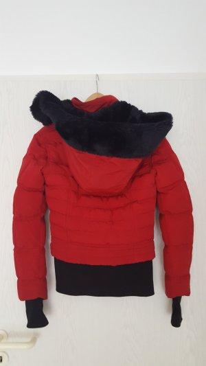 Wellensteyn Damen Winterjacke Queens rot gesteppt dark red Gr. XS