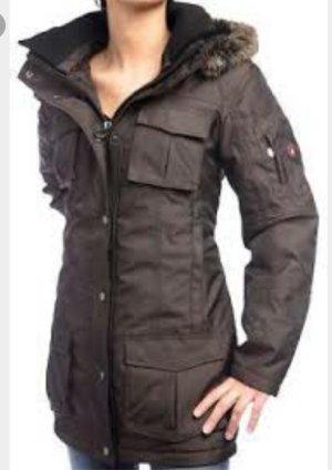 wellensteyn Jacke schneezauber in Braun zu verkaufen
