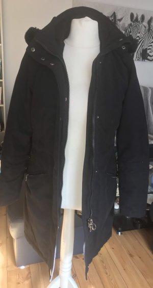 Wellensteyn Capuchon jas zwart