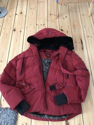 Wellensteyn Mayfair 856 Funktionsjacke mit abnehmbarer Kapuze–Rot