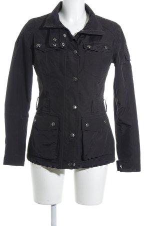Wellensteyn Outdoorjacke schwarz-silberfarben sportlicher Stil