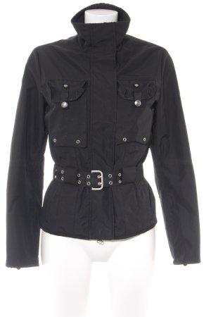 Wellensteyn Giubbino nero stile da moda di strada