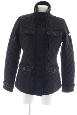 Wellensteyn Chaqueta para exteriores negro Patrón de tejido look casual