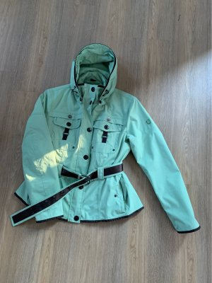 Wellensteyn Parka menta-marrone-nero