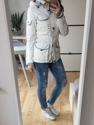 WELLENSTEYN Revolution Übergangsjacke Jacke creme silber