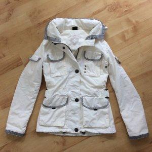 WELLENSTEYN Revolution Übergangsjacke leichte Jacke creme silber Gr. XS