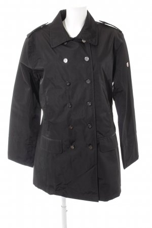 Wellensteyn Trenchcoat schwarz Casual-Look