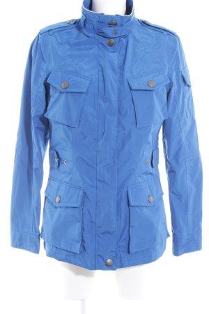Wellensteyn Übergangsjacke blau-silberfarben Casual-Look