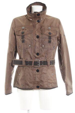 Wellensteyn Chaqueta de entretiempo marrón claro look casual