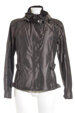 Wellensteyn Übergangsjacke schwarzbraun Karomuster Casual-Look