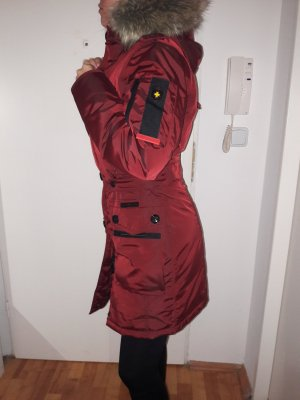 wellensteyn Winterjacke Bordeaux Daunenjacke
